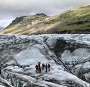 Le glacier Svinafellsjökull